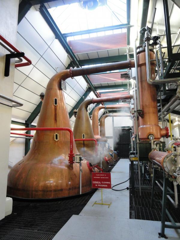 Allt A Bhainne Distillery Tour