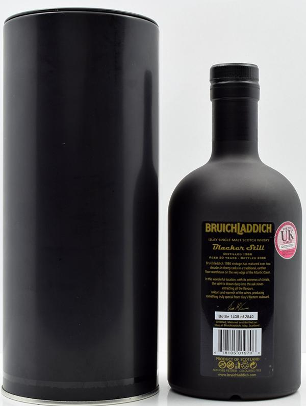 Bruichladdich Blacker Still