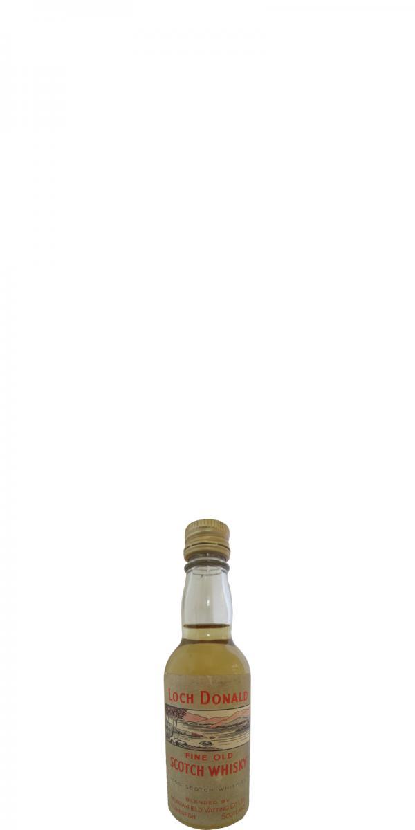 Loch Donald Fine Old Scotch Whisky MVCL