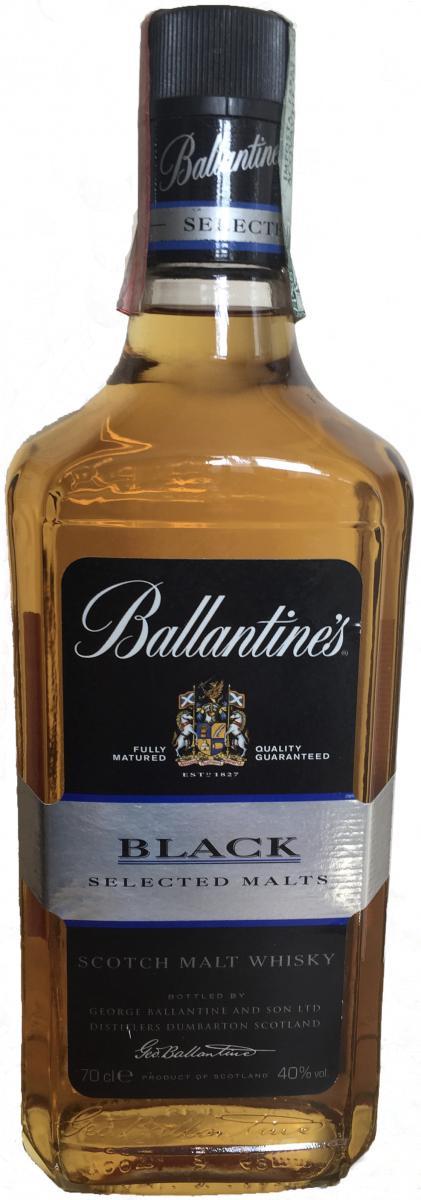 Ballantine's Black - Selected Malts