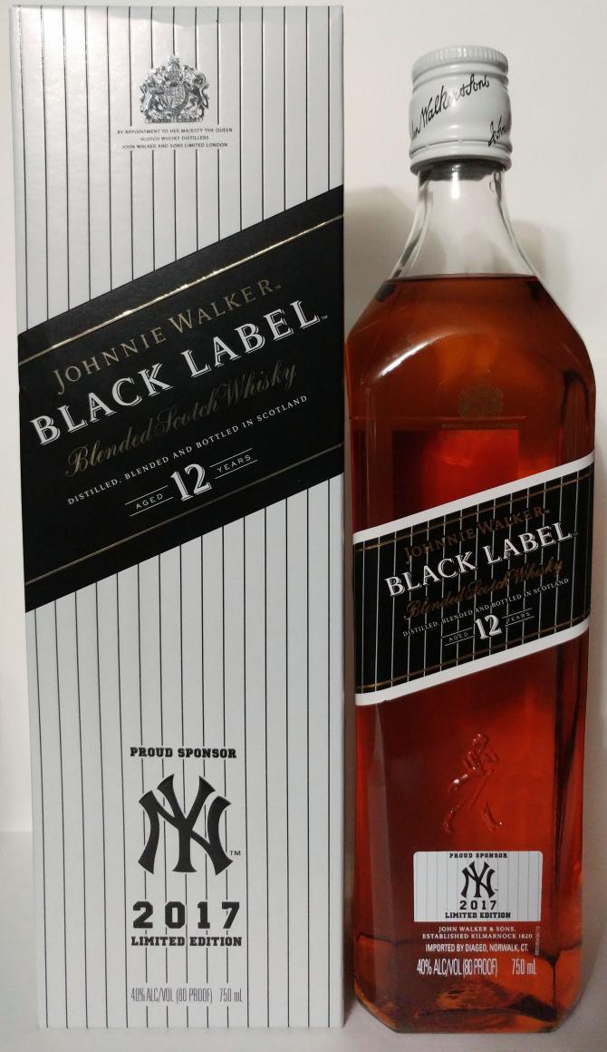 Johnnie Walker Black Label - New York Yankees - Ratings ...