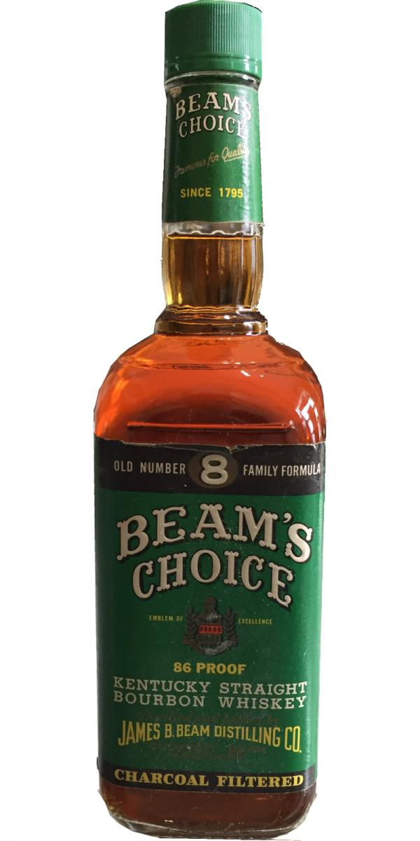 Gas Bottle Prices >> Beam's Choice Old Number 8 Family Formula - Ratings and reviews - Whiskybase
