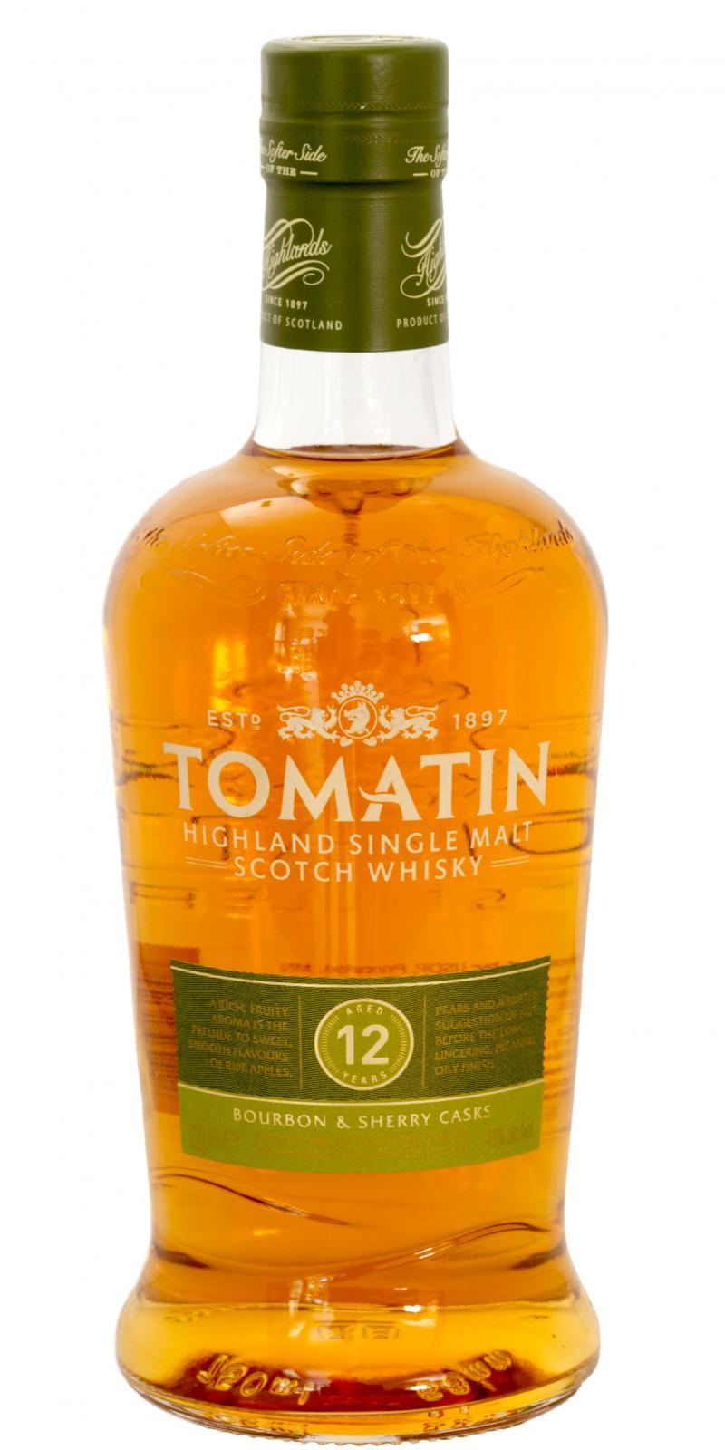 Tomatin 12-year-old