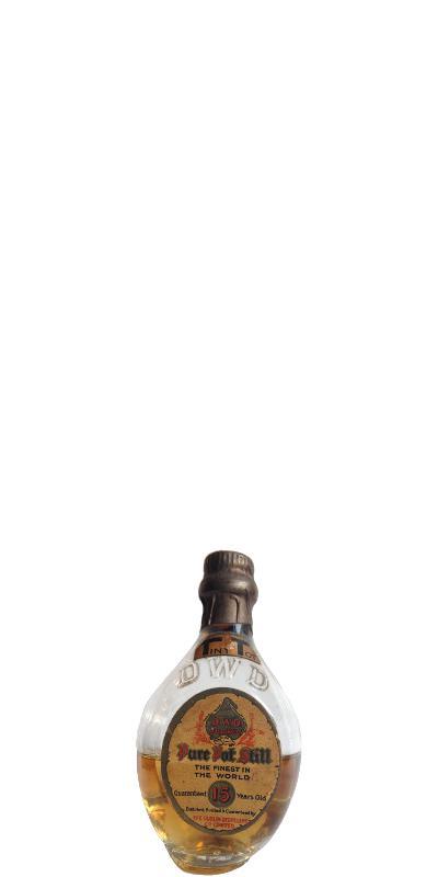 D. W. D. - Dublin Whiskey Distillery 15-year-old