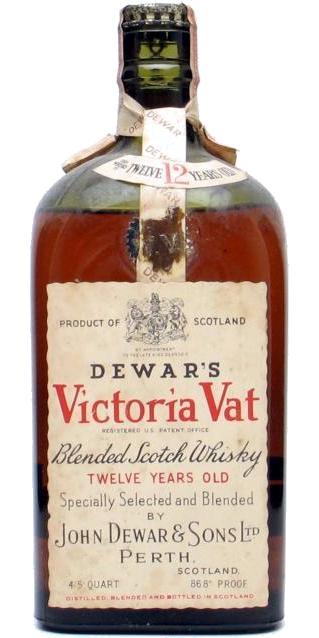 Dewar's 12-year-old - Victoria Vat