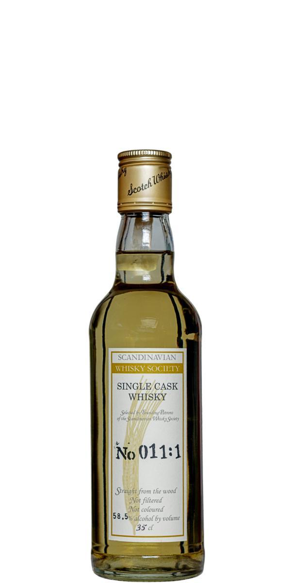 Single Cask Whisky No 011:1