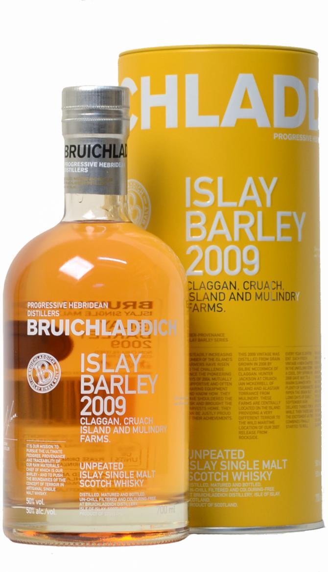 Bruichladdich 2009 Islay Barley
