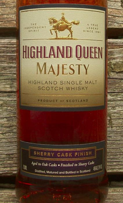 Highland Queen Majesty - Sherry Cask Finish