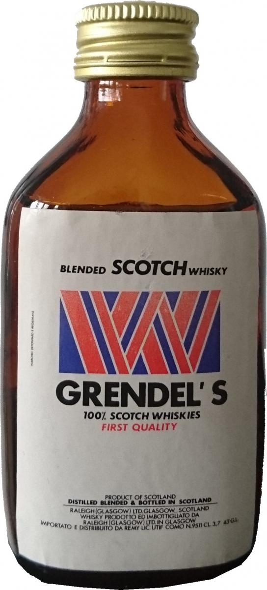 Grendel's 100% Scotch Whiskies - First Quality