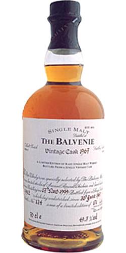 Balvenie 1967 Vintage Cask