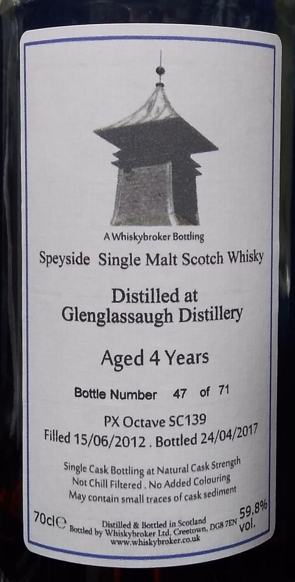 Glenglassaugh 2012 WhB