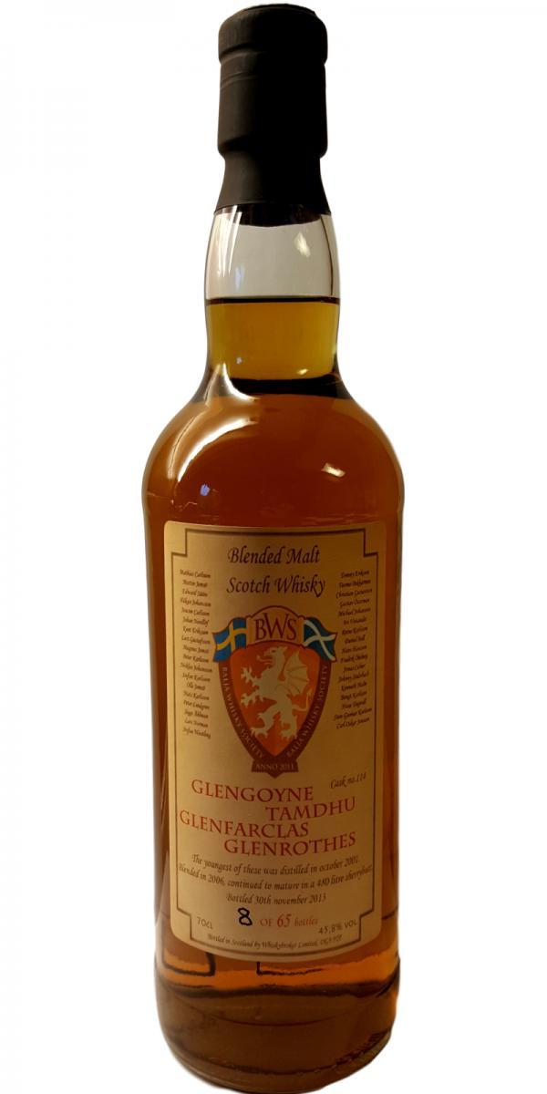 Blended Malt Scotch Whisky 2001 WhB