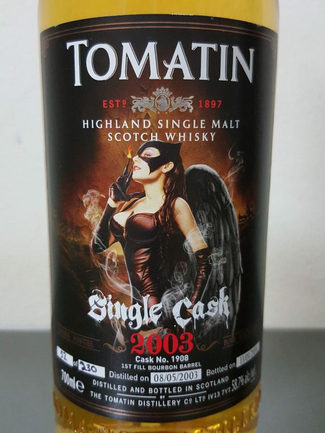 Tomatin 2003 - Dark Angel