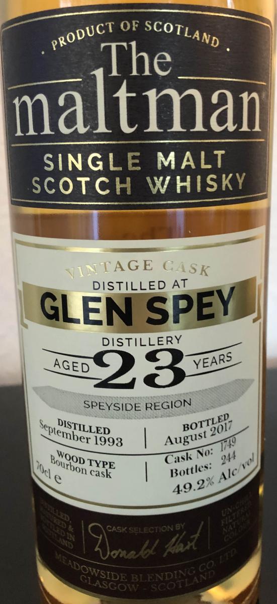 Glen Spey 1993 MBl