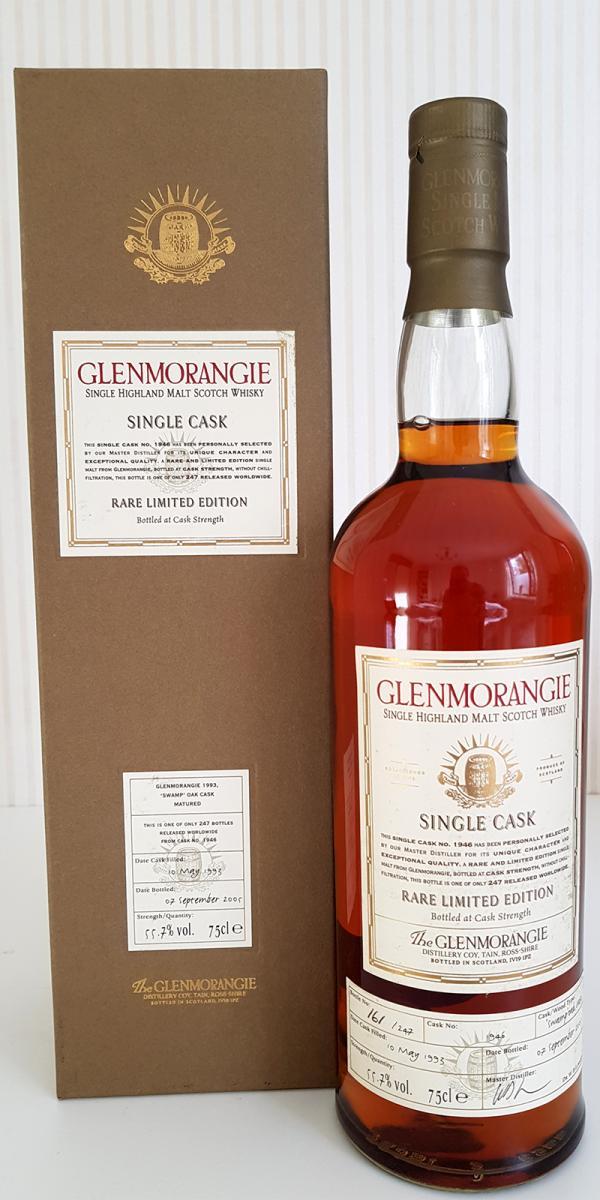 Glenmorangie 1993 - 'Swamp' Oak Cask