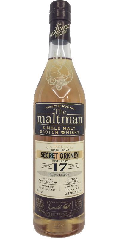 Secret Orkney Distillery 1999 MBl