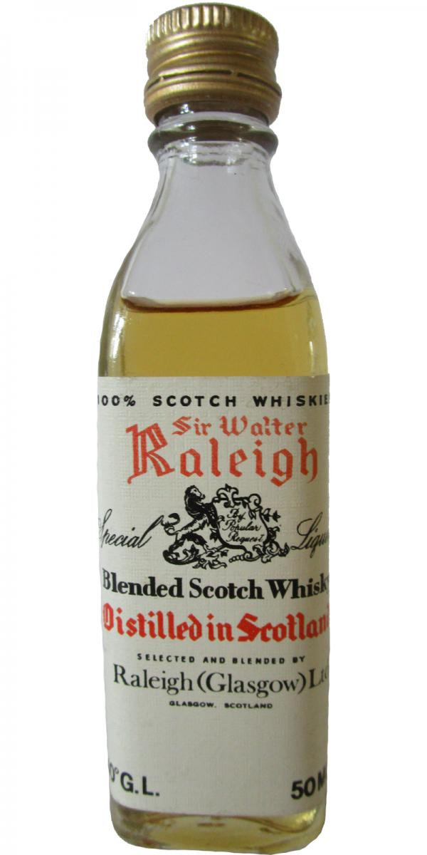 Sir Walter Raleigh Special Liqueur
