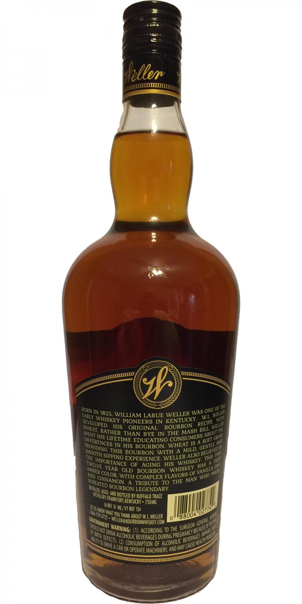 W.L. Weller 12-year-old - Whiskybase