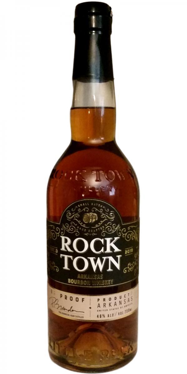 Rock Town Arkansas Bourbon Whiskey