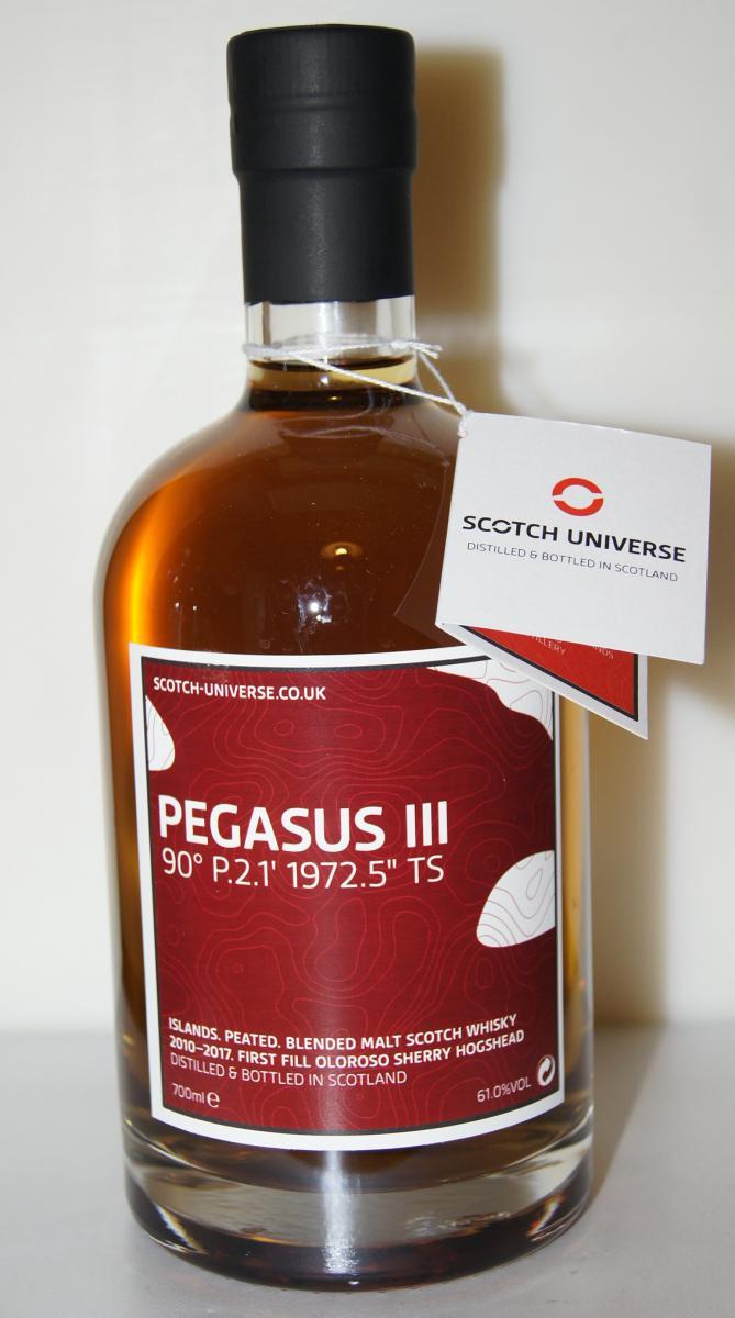 """Scotch Universe Pegasus III - 90° P.2.1' 1972.5"""" TS"""