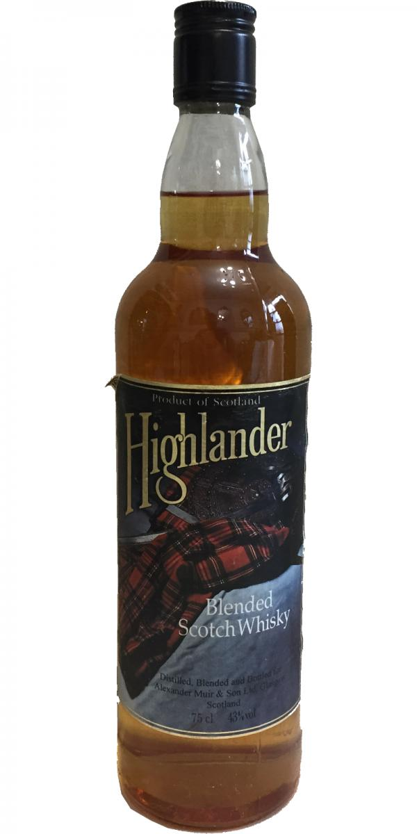 Highlander Blended Scotch Whisky