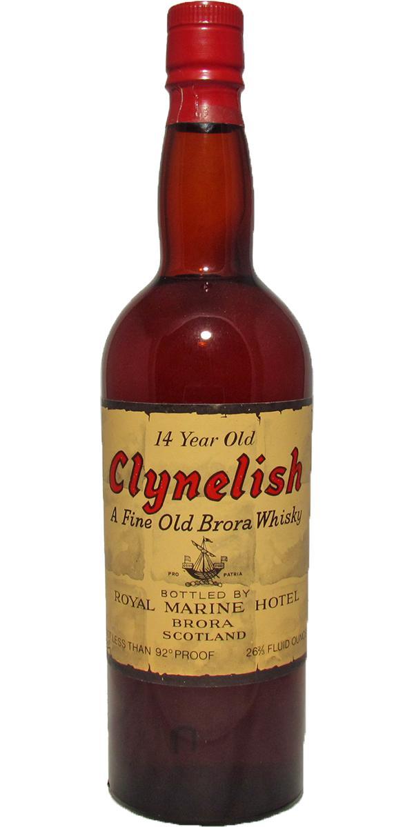 Clynelish 14-year-old Royal Marine Hotel