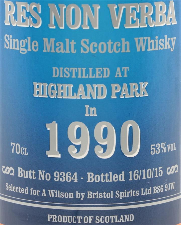 Highland Park 1990 BSL
