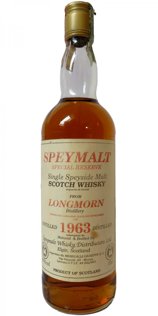 Longmorn 1963 SWD