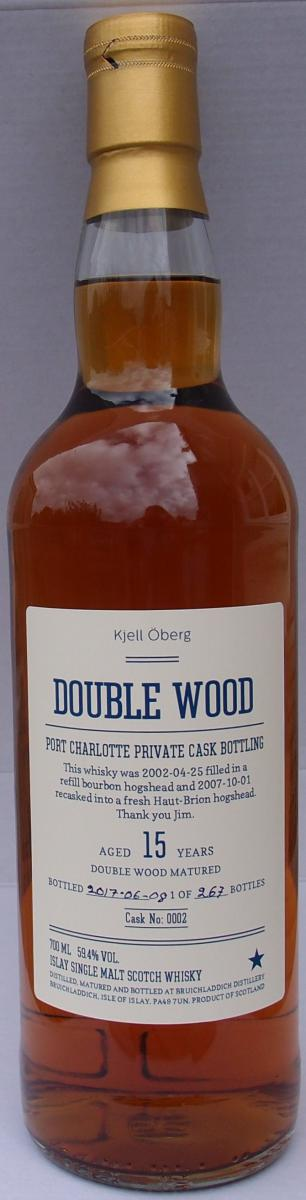 Port Charlotte 2002 - Double Wood