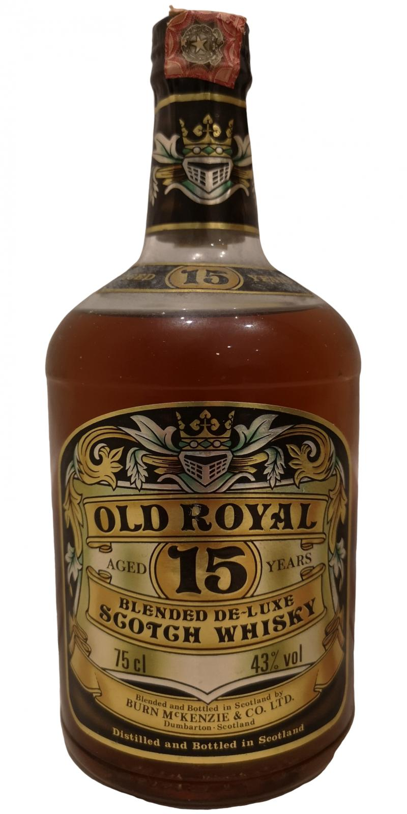 Old Royal 15-year-old BMcK