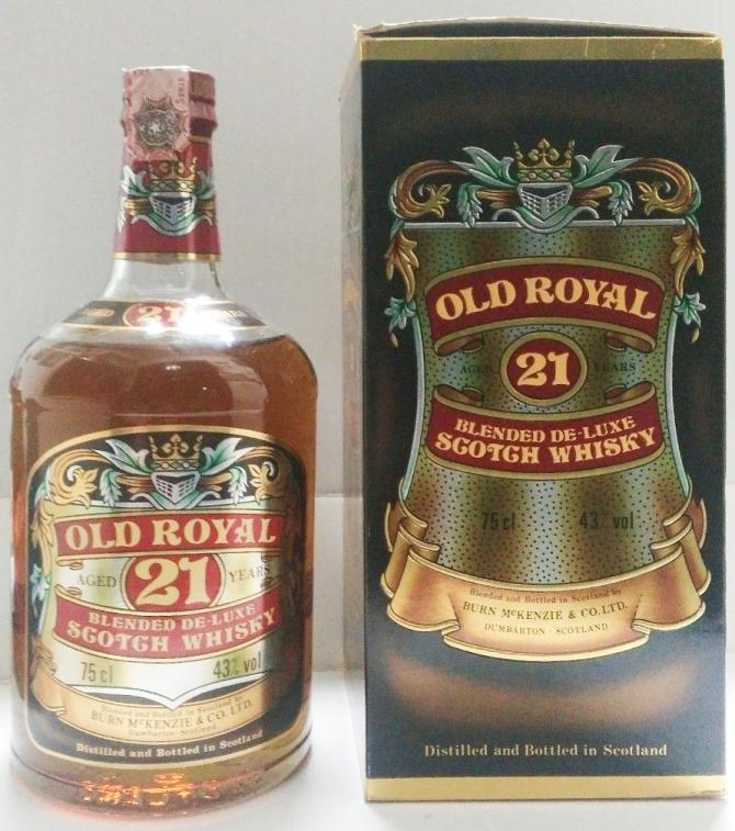 Old Royal 21-year-old BMcK