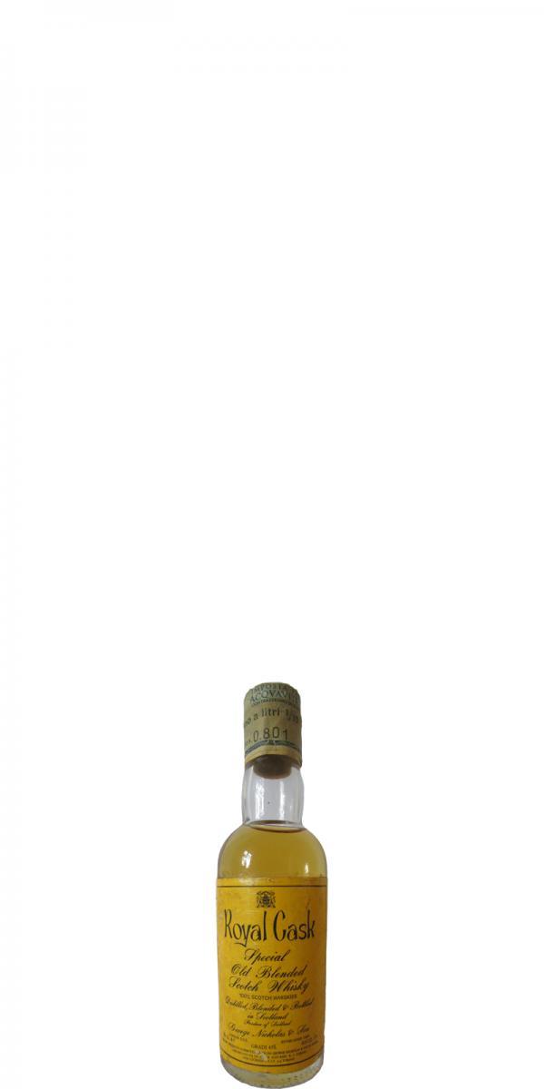 Royal Cask Special Old Blended Scotch Whisky