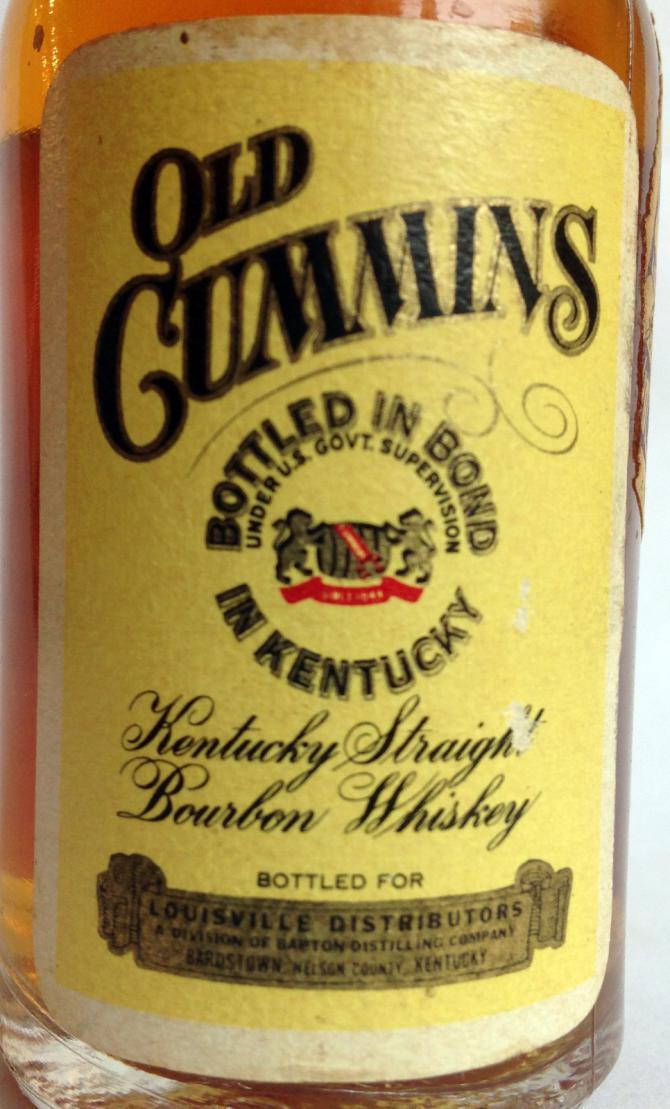 Old Cummins Bottled in Bond - Ratings and reviews