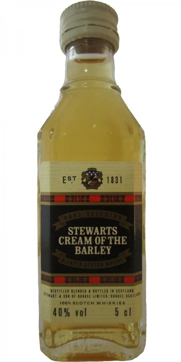 Stewarts cream of the barley rare selected s sd whiskybase for Big whiskey s