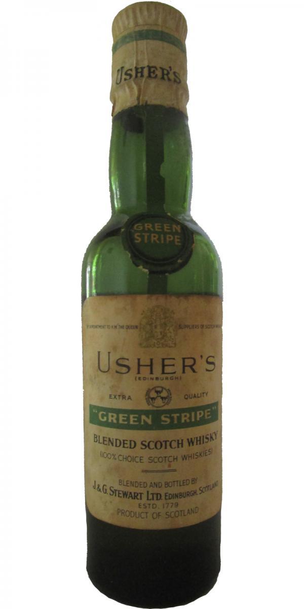 Usher's Green Stripe JGSt