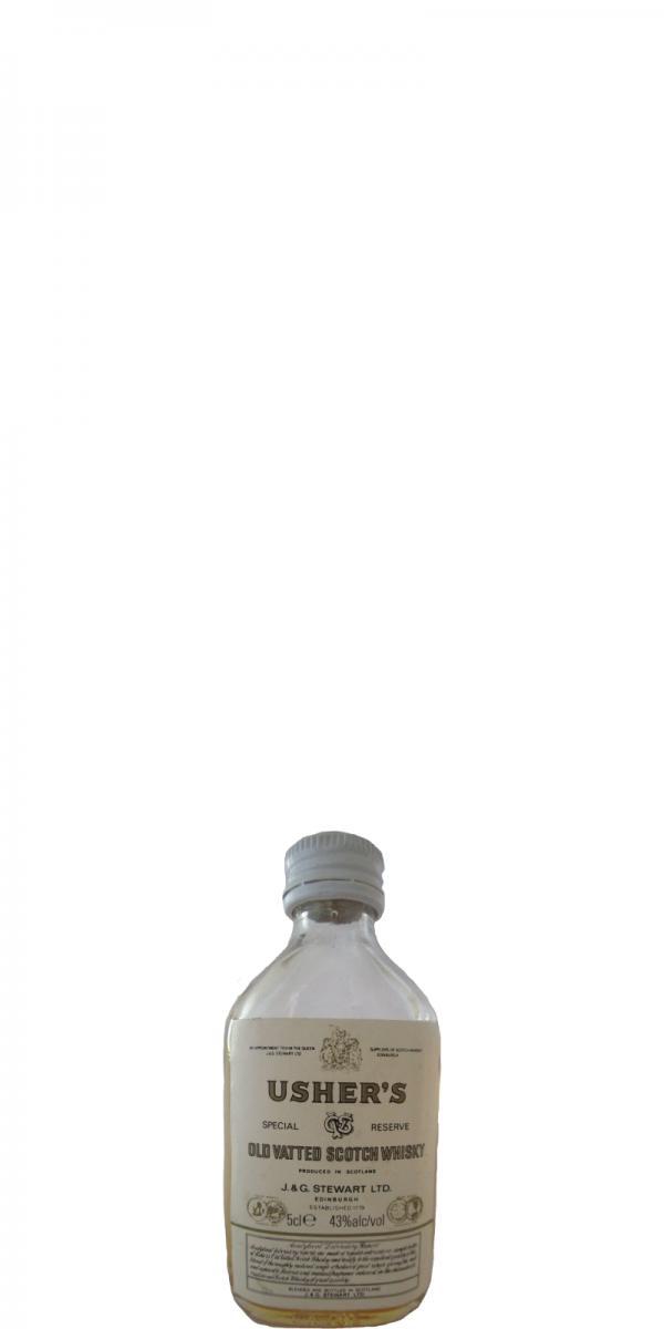 Usher's Old Vatted Scotch Whisky JGSt