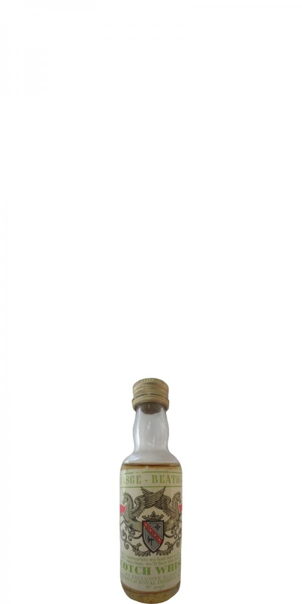 Uisge Beatha Scotch Whisky GSL