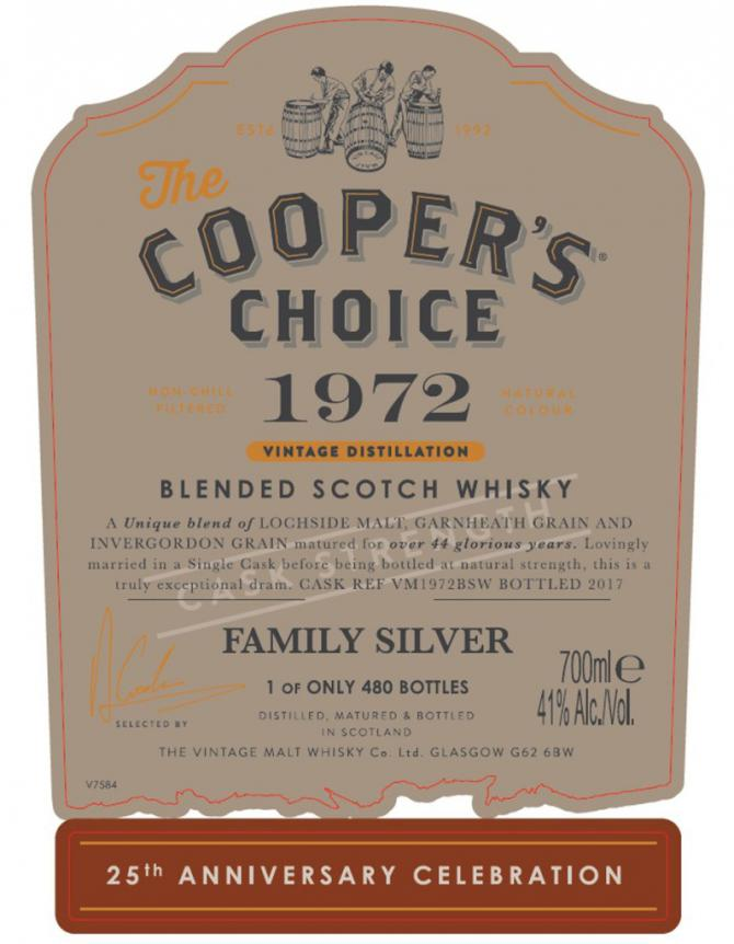 Blended Scotch Whisky 1972 CC