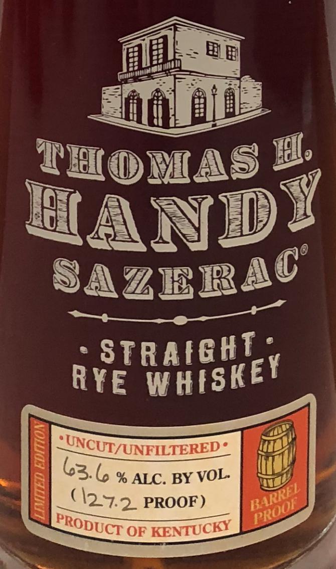 Thomas H. Handy Sazerac 2011