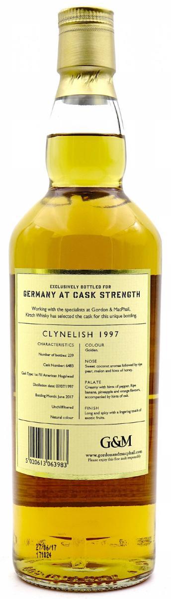 Clynelish 1997 GM