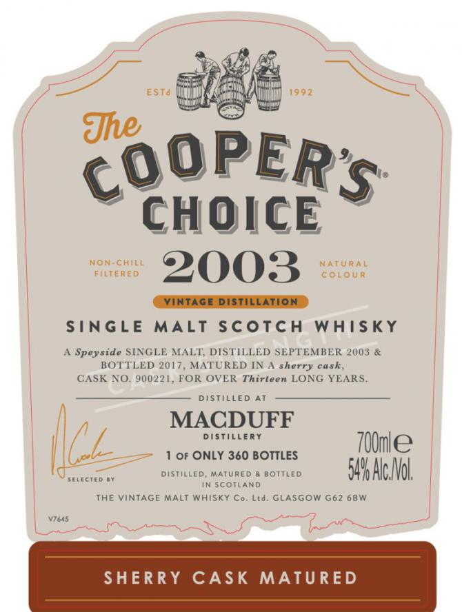 Macduff 2003 VM