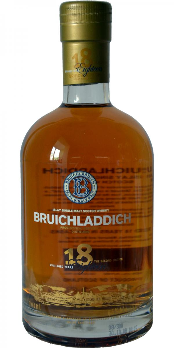 Bruichladdich 18-year-old 2nd Edition