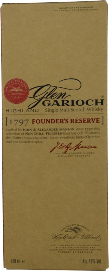 Glen Garioch Founder's Reserve 1797