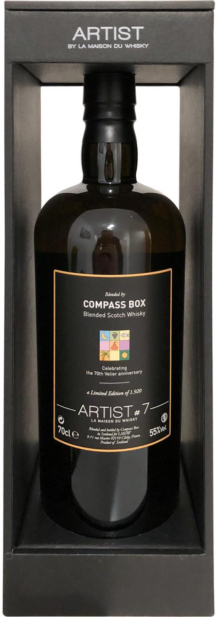Blended Scotch Whisky Blended by Compass Box LMDW