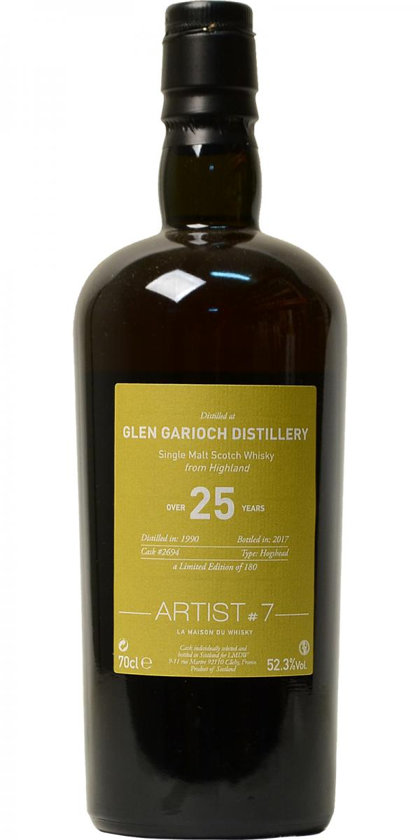 Glen Garioch 1990 LMDW - Ratings and reviews - Whiskybase