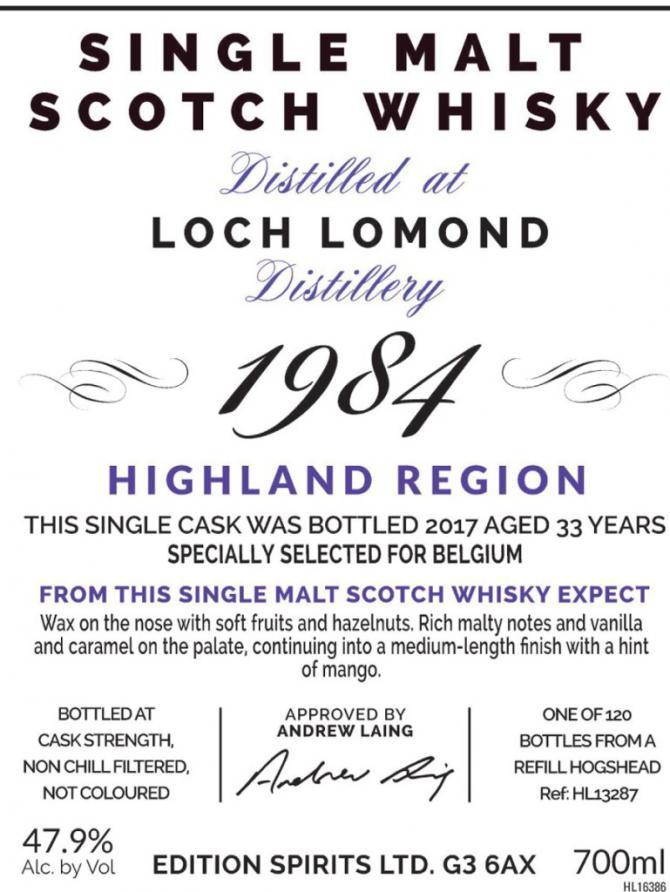 Loch Lomond 1984 ED