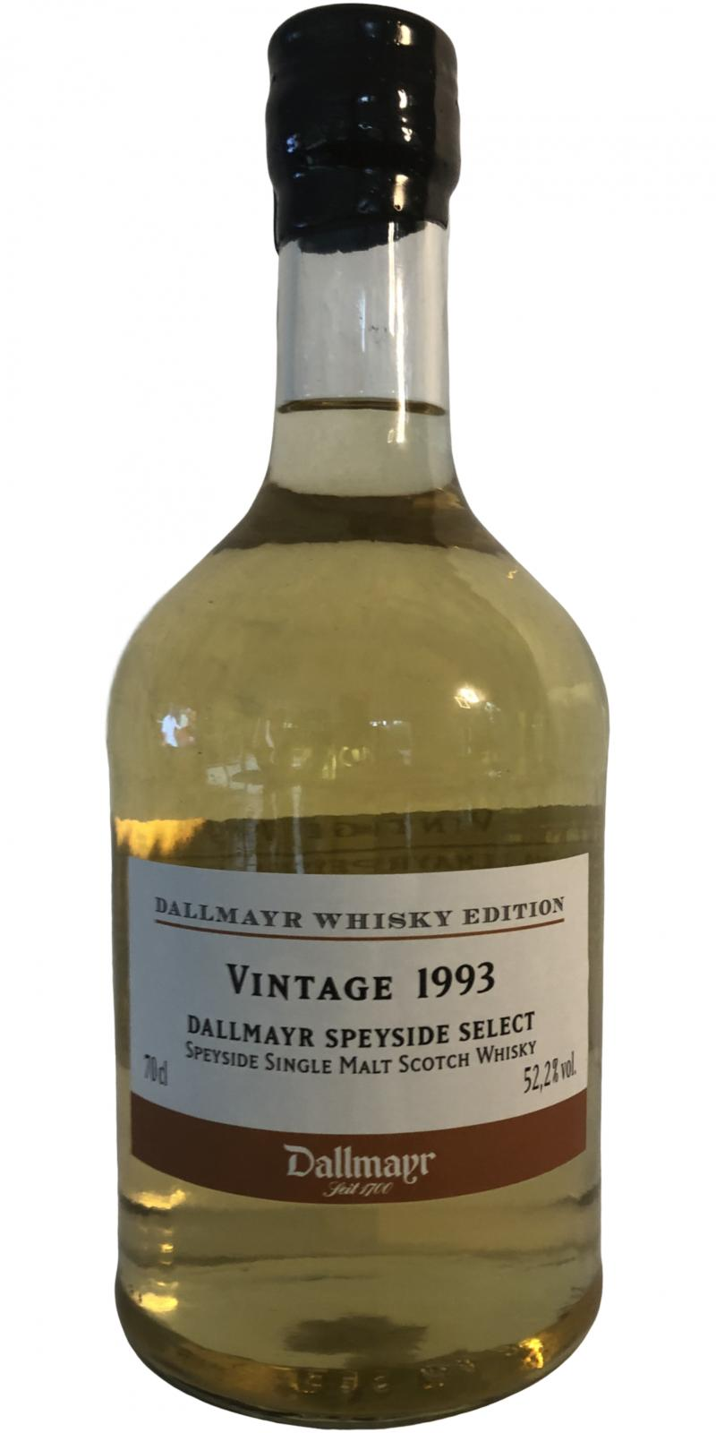 Dallmayr Speyside Select 1993 Dyr