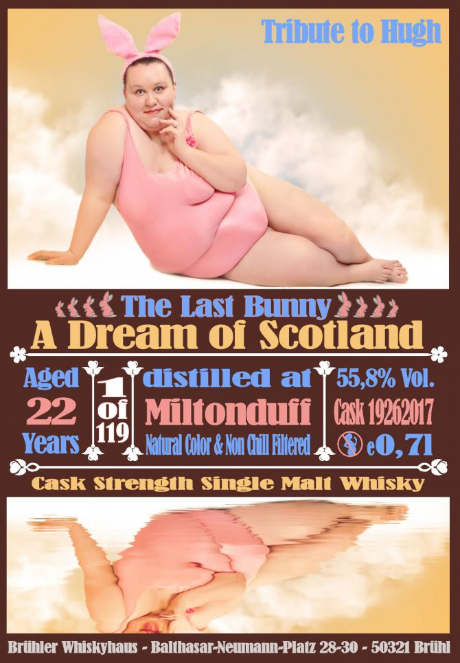 Miltonduff 22-year-old BW - The Last Bunny