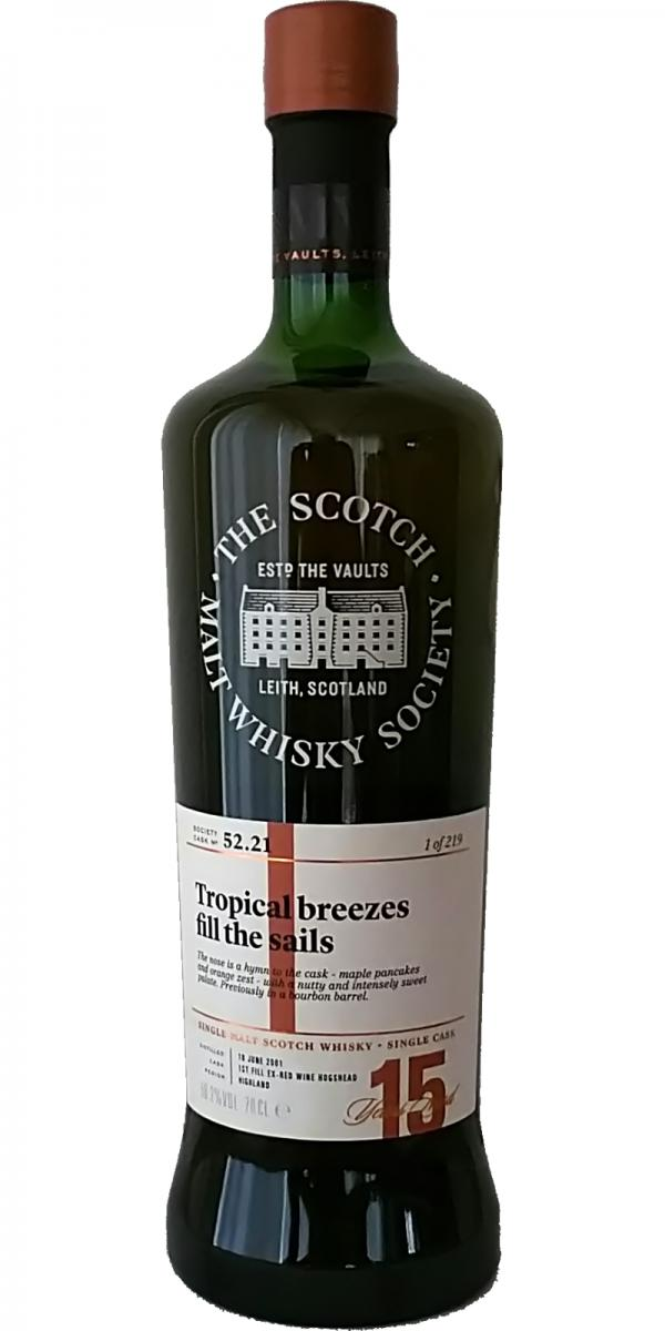 Old Pulteney 2001 SMWS 52.21