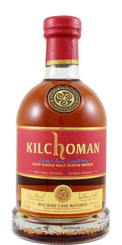 Bildergebnis für kilchoman red wine finish